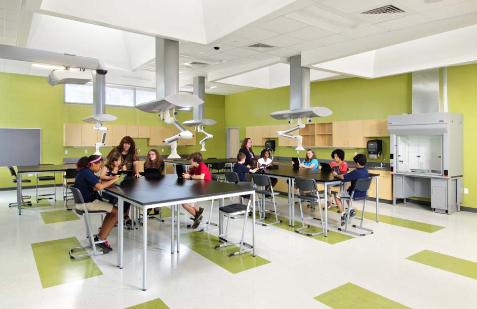Colonel Smith MS STEM Science Lab