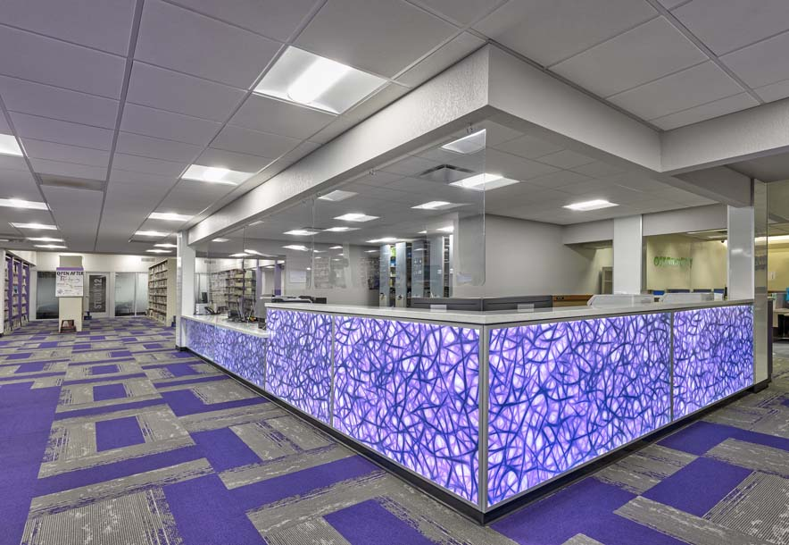 EAC Learning Center Circulation Desk