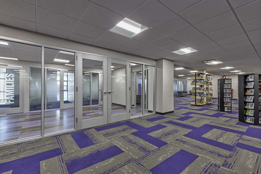 EAC Learning Center Lobby