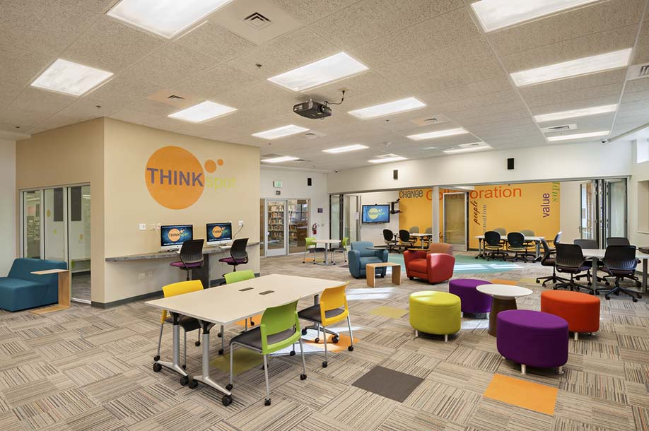 Red Mtn. Library THINKspot Collaboration Space