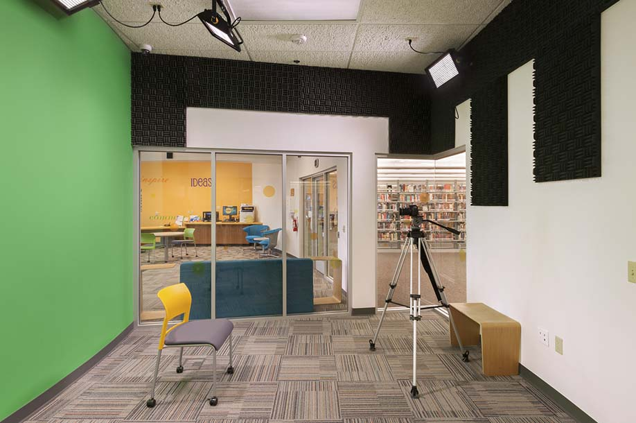 Red Mtn. Library THINKspot Video Production-Green Screen