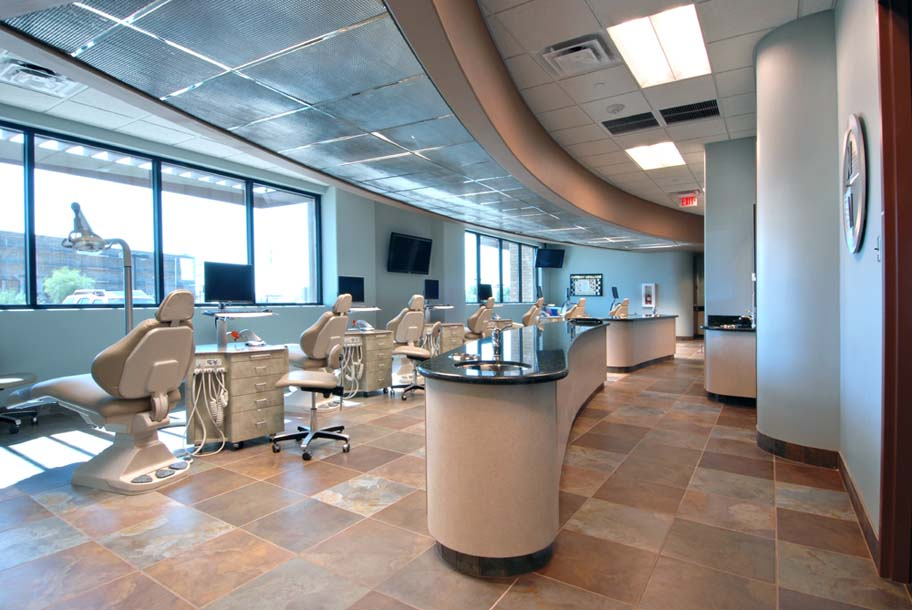 Power Professional Plaza Dental Office Exam and Procedure Area